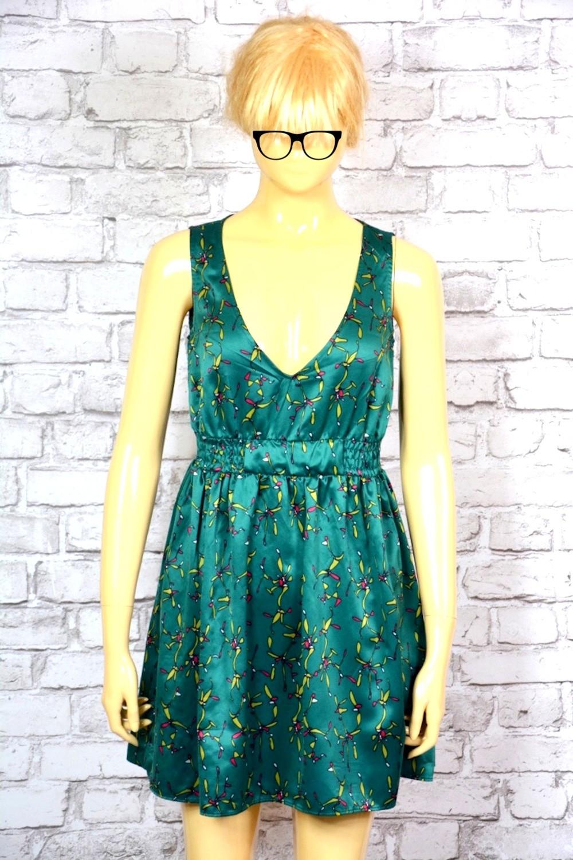 Krótka rozkloszowana sukienka