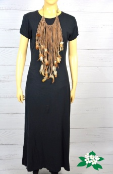 Tshirtowa maxi sukienka