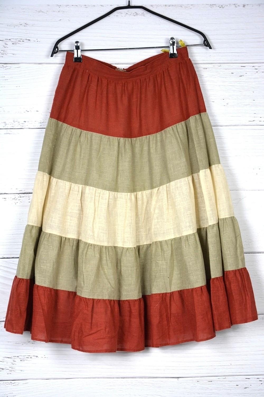 Spódnica w meksykańskim stylu S