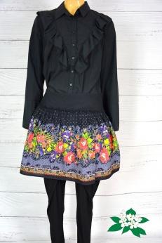 Kolorowa spódnica boho folk L