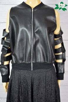 The Ragged Priest Unikatowa kurtka wycięte rękawy L