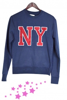 Bawełniana Bluza New York City S M