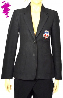 Trutex since 1865 czarina marynarka vintage z emblematem S