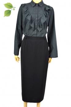 Gery Weber Nowa elegancka czarna spódnica ołówkowa S