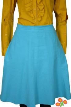 Madeleine rozkloszowana spódnica midi L