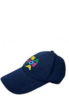 Majorka nowa granatowa czapka z daszkiem
