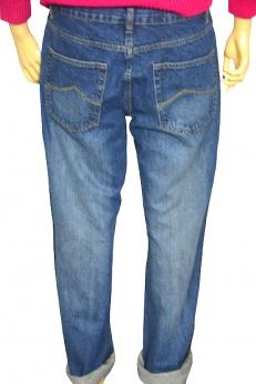 Jeansowe spodnie boyfriendy M