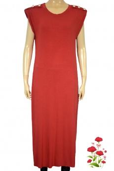 New Collection nowa czerwona sukienka midi M