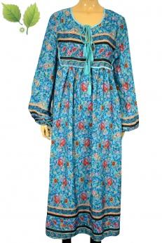 Sukienka boho hippie vintage z lat 70 80 L XL