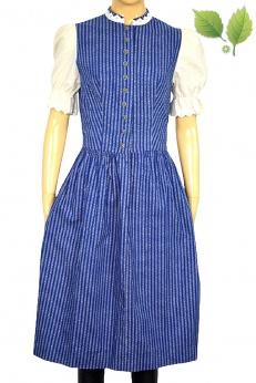 Sukienka midi vintage ze stójką XS S