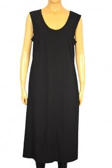 Marc O'Polo elegancka czarna biznesowa sukienka midi M L