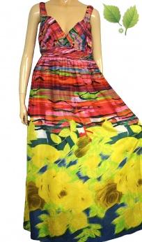 Aftershock London premium jedwabna maxi sukienka M