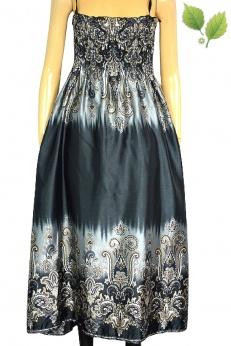 Cudna długa sukienka maxi spódnica boho M L XL
