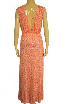 H&M letnia maxi sukienka boho z rozcięciem XS S SM