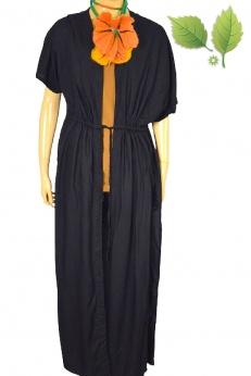 Noisy May długa sukienka narzutka z wiskozy S M L