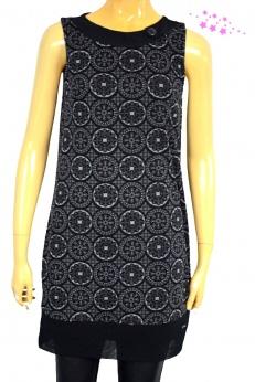 Tom Taylor nowa pudełkowa siateczkowa sukienka w mandale XS S
