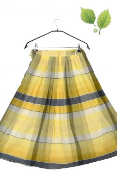 Alexnader spódnica midi vintage w kratkę S M