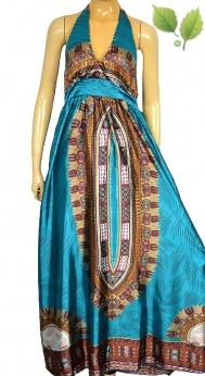 Długa sukienka boho dashiki S M L