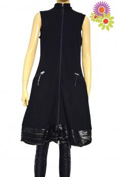 Joseph Ribkoff sukienka midi bombka na suwak S M