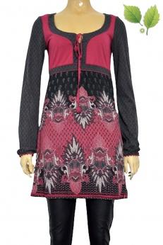 Esprit krótka sukienka w ornamenty S